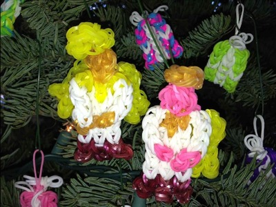 HOW TO MAKE RAINBOW LOOM ANGEL *NEW*