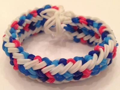 How To Make The Mini Snake Belly Rainbow Loom Bracelet Part 2 of 2