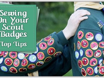 How to Sew on Beaver.Cub.Scout Badges (including bloopers at the end!) | Tutorial By Babs Rudlin