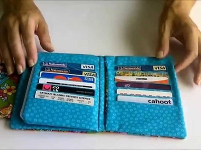 Look at the Ultimate Wallet Sewing Pattern