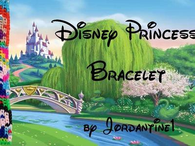 New Disney Princess Bracelet - Alpha Loom. Rainbow Loom - Ariel, Cinderella, Snow White