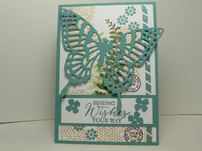 Ophelia Crafts Butterfly Basics Card #5
