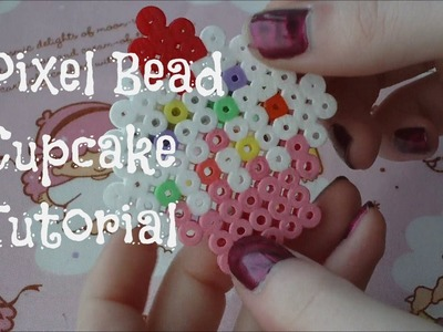 Pixel Bead Cupcake Tutorial