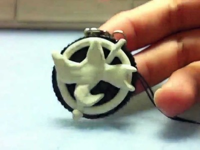 Polymer clay Mockingjay Oreo tutorial :) ~PART 1~