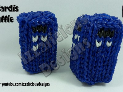 Rainbow Loom - 3D Tardis Stuffie.Charm From Doctor Who - © Izzalicious Designs 2014