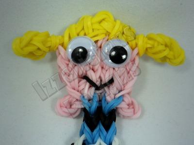 Rainbow Loom Bubbles Powerpuff Girls - Action Figure.Charm 1 Loom - Gomitas