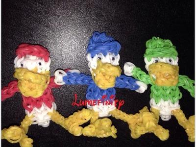 Rainbow Loom Huey, Dewey and Louie