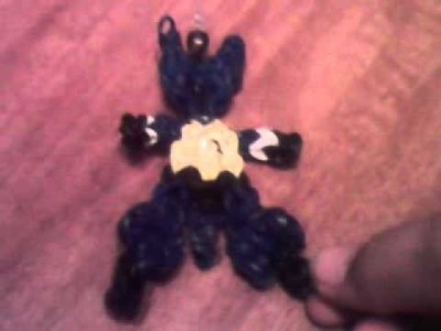 Rainbow loom pokemon lucario