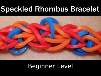 Rainbow Loom® Speckled Rhombus Bracelet