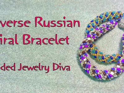 Reverse Russian Spiral Bracelet - Russian Spiral Bracelet Tutorial