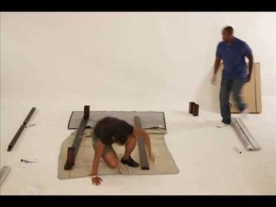 Solide Platform Bed Assembly- Charles P. Rogers Beds