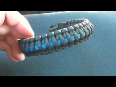Survival Straps Para Cord Bracelet