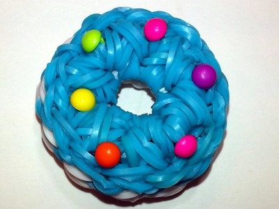3-D Doughnut (Cookie) Charm Tutorial by feelinspiffy (Rainbow Loom)