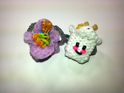 3-D Happy Take Out Box Tutorial by feelinspiffy (Rainbow Loom)