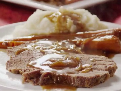 Beef Recipes - How to Make Slow Cooker Pot Roast