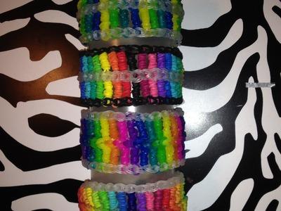 Candy Streamer Bracelet (Part 2) On Rainbow Loom