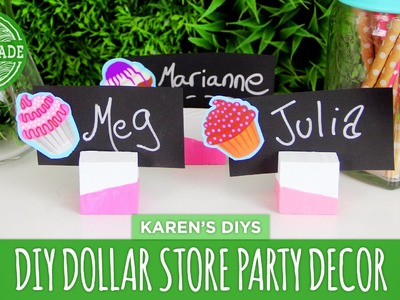 DIY Dollar Store Party Decor! - Dollar Store Challenge - HGTV Handmade