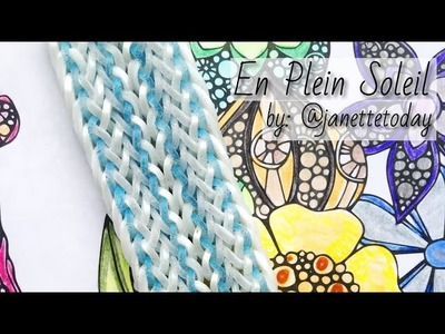 EN PLEIN SOLEIL Hook Only bracelet tutorial