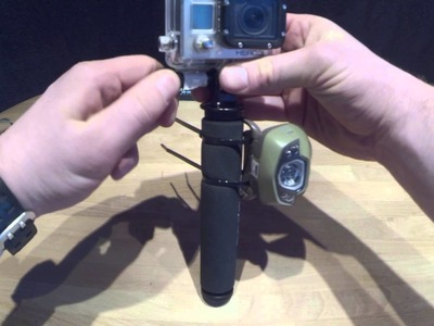 Fast, Cheap and Easy GoPro DIY LED light video tutorial