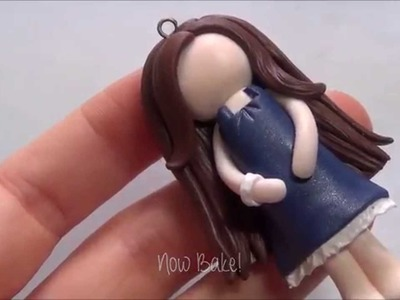 [How To Draw Channel] - How to make chibi girl Polymer Clay!!!