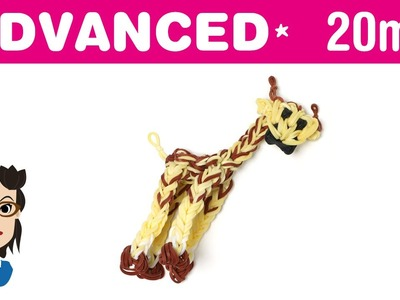 How to make a Giraffe Loom Band Charm