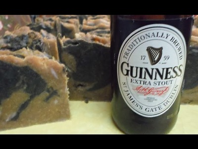"How to make Beer Soap ""Step by Step"""