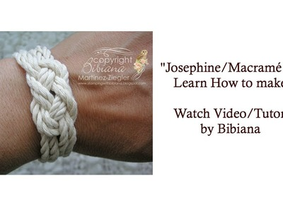 """Josephine Knot"" Tutorial A.k.A. ""Macramé"" or ""Sailor"" knots"