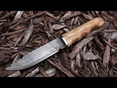Making a hidden tang knife, start to finish.