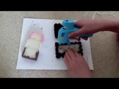 Neapolitan Icecream Sandwich Squishy Tutorial