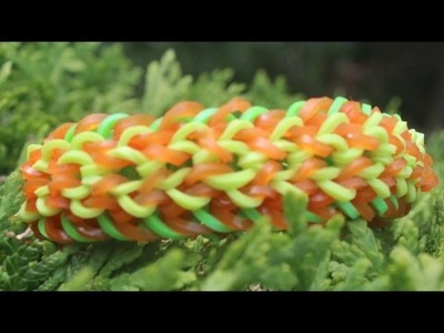 *NEW* Cocoon Bracelet Tutorial on the Rainbow Loom