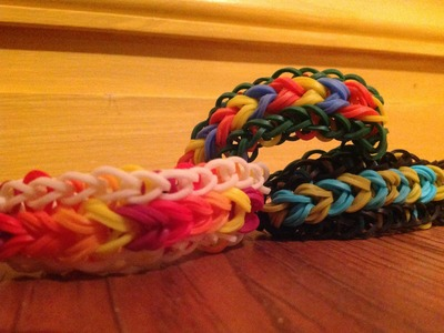 *NEW!* How to Make a Rainbow Loom Webbed Wing Bracelet!