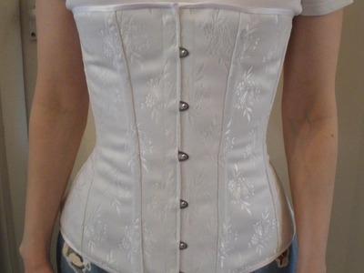 One layer corset tutorial