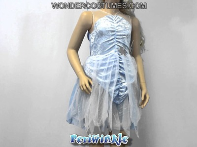 Periwinkle Disney Fairy Girl Costume