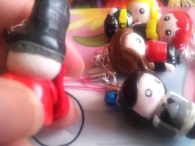 Polymer clay creations (YG special; 2NE1; GD&TOP)