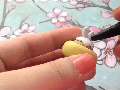 Polymer Clay Molang Cupcake Tutorial