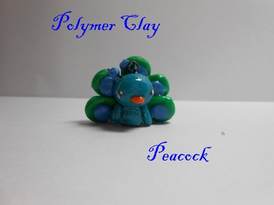 Polymer Clay Peacock