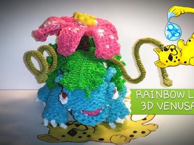Rainbow Loom 3D Venusaur Pokémon (Part 1.12)