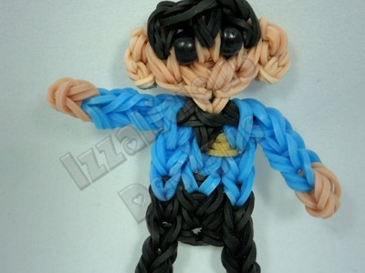 Rainbow Loom Mr Spock - Star Trek Action Figure.Charm - Gomitas