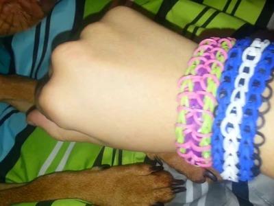 Rainbow Loom Update. Bracelets I've Made.