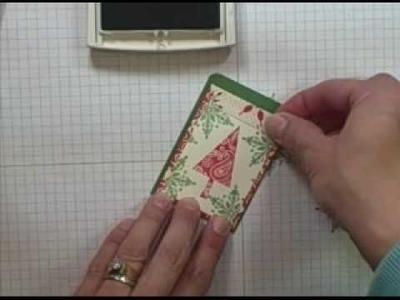 Scalloped Envelope gift card holder