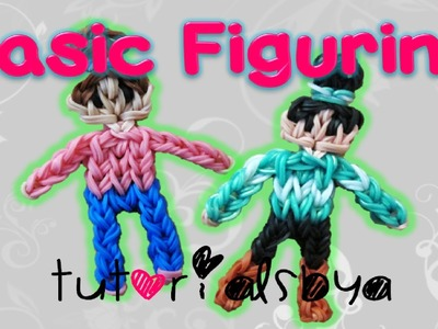 TutorialsByA's Signature.Basic Figurine Rainbow Loom Tutorial