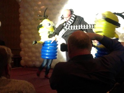Twist and Shout Costumes 2014 - Gru and Minions
