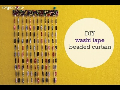 Washi Tape Beaded Curtain|Sophie's World