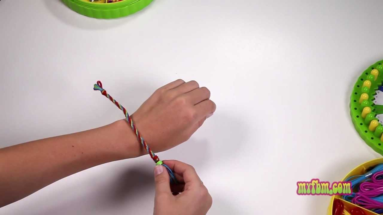 2 of 6 • How To Make A Kumihimo Friendship Bracelet With Your My Circle Of Creativity™