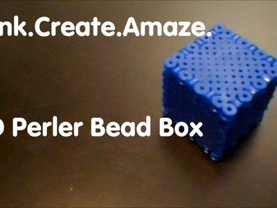 3D Perler Bead Box