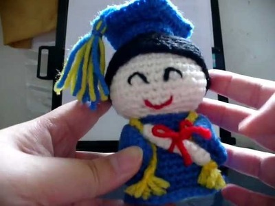 Amigurumi - Graduating Student (No Audio)