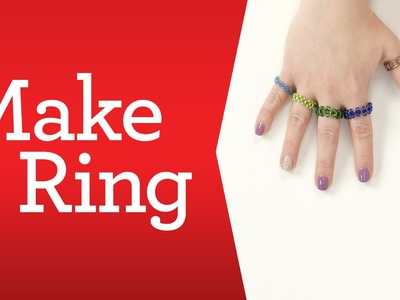 Bead Basics: How to Make a Ring