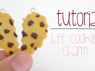 BFF Cookie Charm - Polymer Clay Tutorial