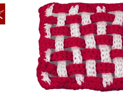 Checkerboard Crochet Granny Square Crochet Geek