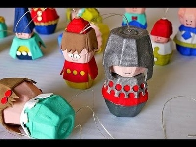 Craft Ideas To Reuse And Recycle Easter Egg Carton